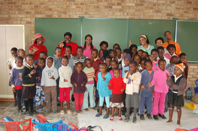 Elementary School Children from South Africa